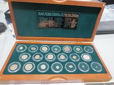 Ancient Silk Road Civilizations: 20 Silver Coin Collection (5th Century B.C. to