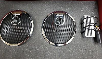 Indian Chieftain Concert Saddlebag Speakers