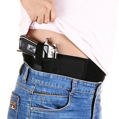 Tactical Concealed Carry Belly Band Holster Ultimate Gun Holster Fit All Pistols