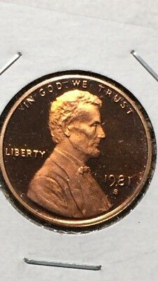 1981 S Lincoln Cent Gem DCAM Proof Type 1. 072
