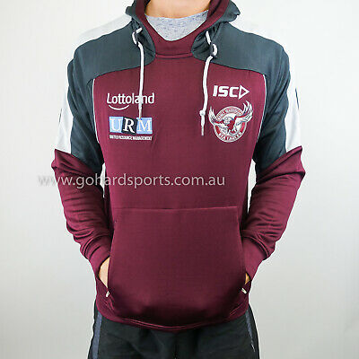 Manly Sea Eagles 2018 NRL Mens Squad Hoody (Sizes S - 5XL) *ON SALE NOW*