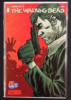 WALKING DEAD #1 Comic Book Diamond SDCC 2017 Exclusive Variant NM Limited 5000