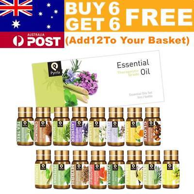 Essential Oil 100% Pure Aromatherapy Fragrance Diffuser Essential Oils Aroma AU