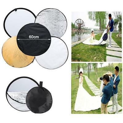 5 in 1 60CM Multi Collapsible Photo Studio backgrounds Reflector Board Panels