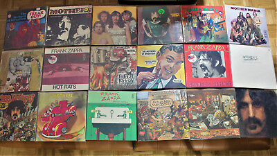 FRANK ZAPPA ~ ULTIMATE COLLECTION vinyl lp, CDs ~ ONCE IN LIFE TIME OPPORTUNITY