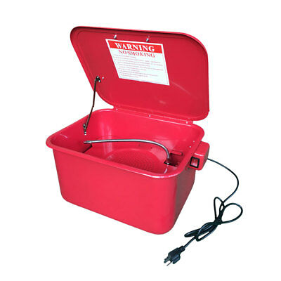 3-1/2 Gallon Portable Parts Washer Electric Solvent Pump Auto Garage Cleaning