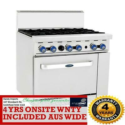 Cookrite 6 Burner With Oven Ato-6B-F Ng