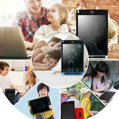 8.5inch Electronic LCD Writing Tablet Kid Memo Graphics Drawing Pad Portable New