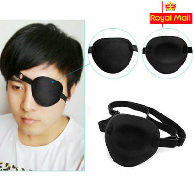 Medical Concave Eye Patch Foam Groove Washable Eyeshades For Strap Kids/Adult