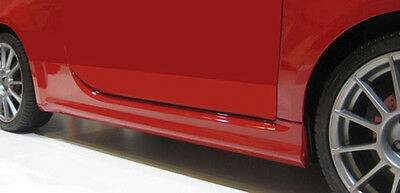 Abarth Look Fiat 500 Seitenschweller / side skirts 2007- (M 231P)