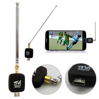 DVB-T Micro USB HD TV Tuner Receiver Dongle+Antenna For Android Mobile Phone AU