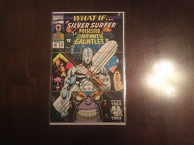 What if #49 Silver Surfer possessed the Infinity Gauntlet VF-