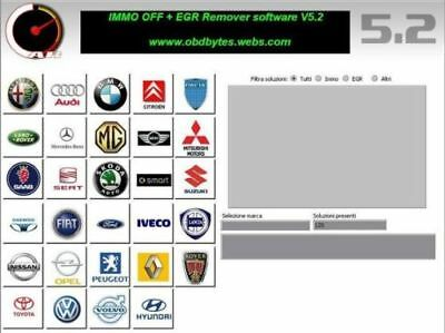 Carsoftware 5.2 Immo Egr  + Car Software Fap Dpf Italiano