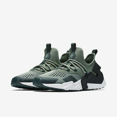 pretty nice 3edf4 c3f70 Nike Air Huarache Drift Br Trainers Black White Green A01133 300  Bnwb