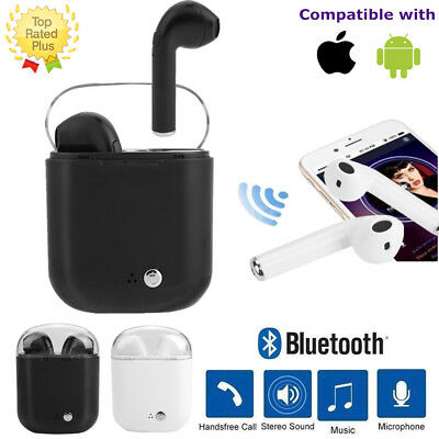 Twins i7S Wireless Bluetooth Earphone Headphone Stereo Earbud for iPhone Samsung