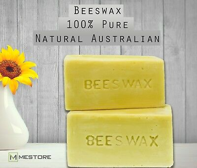 Beeswax Pure 100% Natural Australian Unrefined Raw for Soap Candles Cosmetics