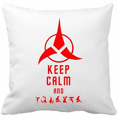 Cojín con relleno Star Trek Keep Calm and Klingon