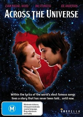 Across The Universe (DVD, 2017) R4 New Sealed