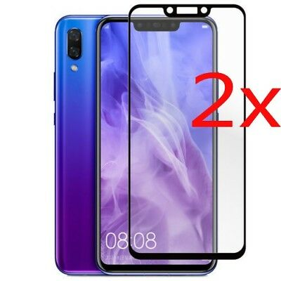 2x For Huawei Mate 20 Lite 3D Full Coverage Tempered Glass Screen Protector Film