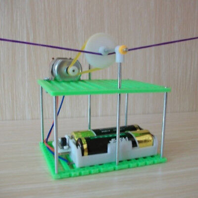 Kids Electric Cable Car Toy Learning Physics Circuits Kit Science Educational