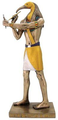 """16.5"""" Egyptian Thoth Sculpture Figurine Ancient Egypt God Statue Knowledge"""