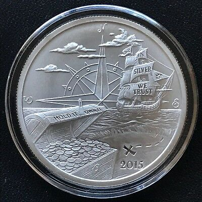 2015 Finding Silverbug Island Collection - 1 oz .999 Silver Round