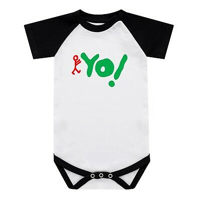 Yo Mtv Raps Baby Grow Tribe Called Quest Baseball Babygrow Q-Tip 0-18 Months New