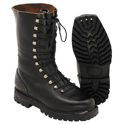 NEW/UNISSUED Austrian army surplus high leg all leather combat / assault boots