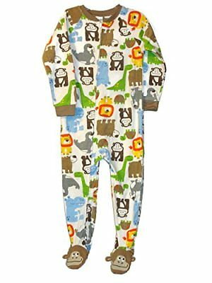 New BOYS Lot of 3 FOOTED PAJAMAS DOGS Animals AIR /& SPACE CARTER/'S Simple Joys