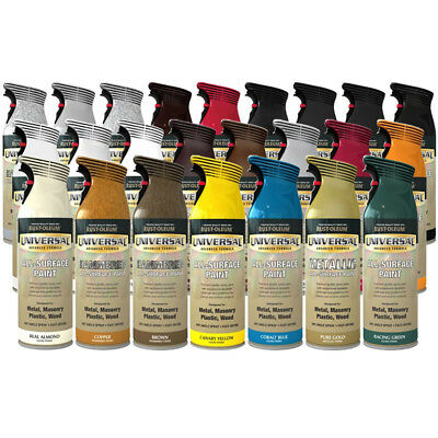Universal Multi Surface All Purpose Spray Paint Hammered Metallic Other Finishes