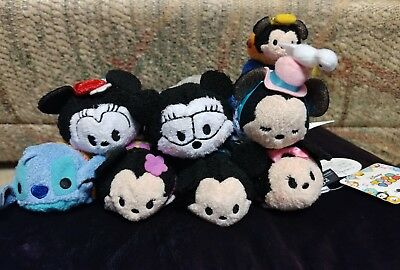 NWT AUTHENTIC Disney Store JAPAN and US Tsum Tsums Minnie, Hawaiian