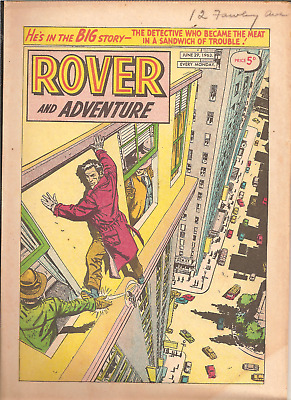 ROVER AND ADVENTURE,JUNE 29th,1963:CAR CLUB BADGES BACK PAGE,32 PAGES
