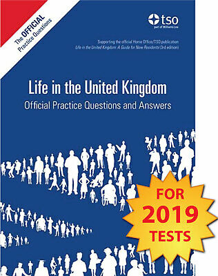 Life in the UK Official Practice Questions and Answers 2019 Tests