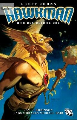 DC COMICS - THE HAWKMAN OMNIBUS VOL. 1 HC OOP - GEOFF JOHNS - RARE!! Near Mint!
