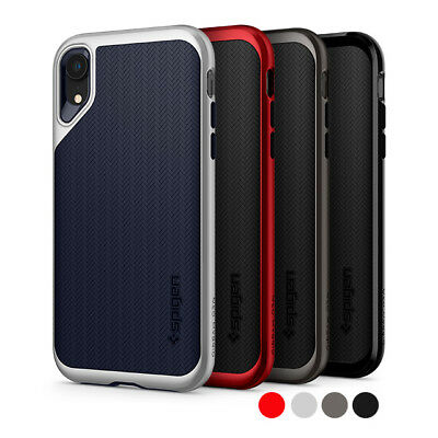 iPhone XR | Spigen® [Neo Hybrid] Dual Layer TPU Protective Shockproof Case Cover
