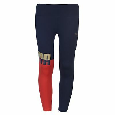 Puma Ace Leggings Youngster Girls Pants Trousers Bottoms Lightweight Stretch