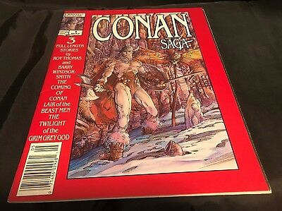 Conan Saga Comic Magazine Vol. 1, #1 - May 1987 - very good