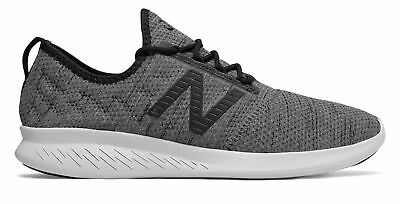 New Balance Men's Fuelcore Coast V4 Hoodie Comfortable Shoes Black With Black