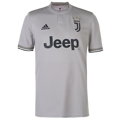 98a1a6189c69 adidas Juventus Away Shirt 2018 2019 Mens Gents Domestic Short Sleeve Round  Neck