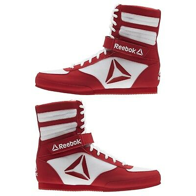 Reebok Training Crossfit Combat LIGHTWEIGHT RED WHITE Boxing Boots Shoes CN4739