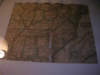 Antique Map 1821 Map of United States