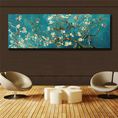 van gogh Impression oil painting HD print on canvas huge wall picture 16x48(in)