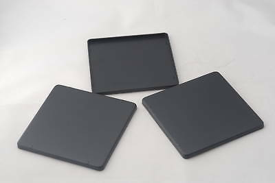 New 3 x Lens Boards For 4x5 Graphic Camera, No Hole