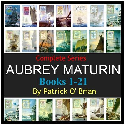 Aubrey Maturin MP3 Complete series by patrick O Brian 21 Audio on 6 Audio CD'S