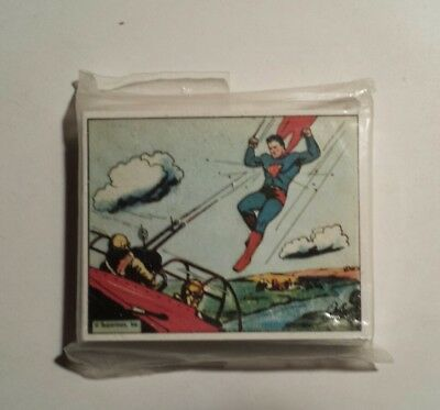 Superman Gum Inc 1984 Reprint Gum Trading Cards Of 30s-40s Complete Set of 56