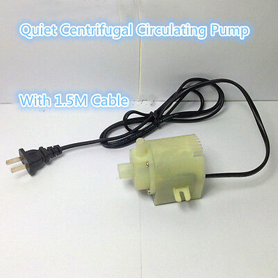 220V AC 7w Mini Submersible Hot Water Pump thermostability acidproof alkali Pump