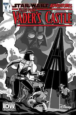 Star Wars Adventures Tales From Vaders Castle 1 Nycc 2018 Exclusive Variant Nm