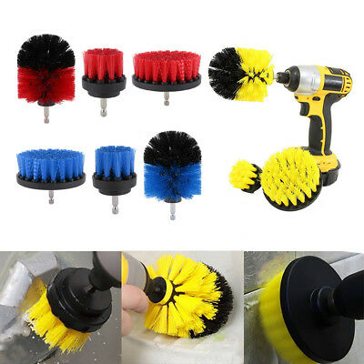 1/3 Pcs drill brush for Car Carpet wall and Tile cleaning 2/3.5/4 inch Duty NEW