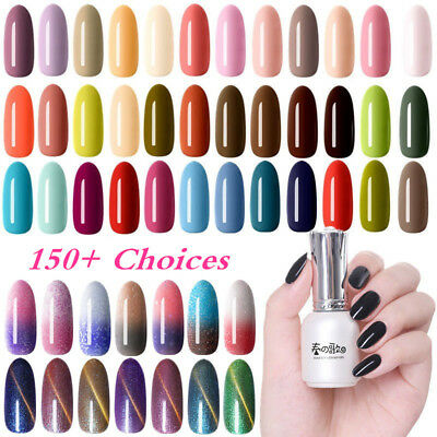 12ml Nail Art Vernis à Ongles Semi-permanent UV Gel Polish Manucure Harunouta