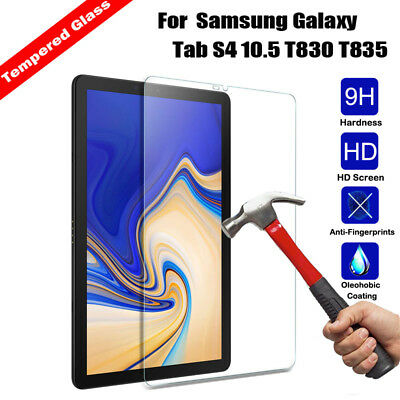 Tempered Glass Screen Protector For Samsung Galaxy Tab S4 10.5 T830/ T835 Tablet